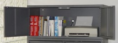 Metal Storage Cabinets With Drawers Or Doors